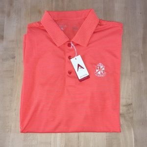 NWT Men's Antigua Desert Dry XTRA-LITE Golf Shirt